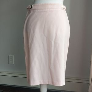 New York & Company pale Pink suit pencil skirt